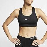 Nike Victory Compression, Reggiseno Di Sport da Donna, Nero (Black/White), Coppa A, B, C, XL