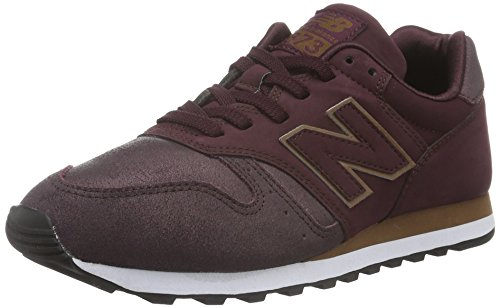 New Balance WL373PG-373, Zapatillas de Running para Mujer, Rojo (Burgundy 512), 36 EU