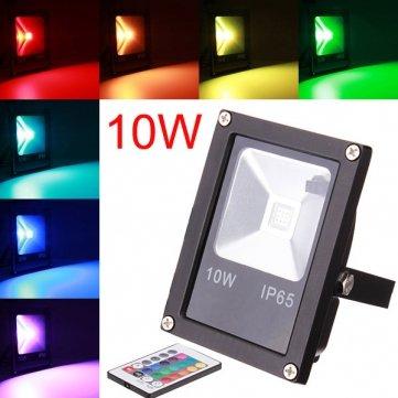 10 W Fluter IP65 LED RGB Light Waschung Gartenlampe AC draußen 85-265V