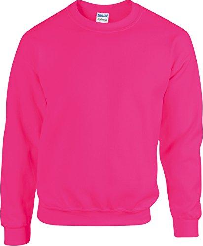 Sweatshirt Heavy Blend - Farbe: Safety Pink - Größe: L
