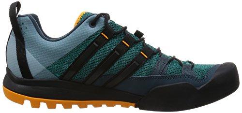 adidas Terrex Solo Trekkingschuhe, Scarpe da Arrampicata Uomo Verde (Green/core Black/orange)