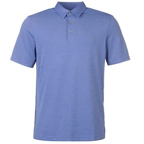 Ashworth Herren Golf Polo Funktions-Shirt Langarm Twilight Blau UK Medium (Golf-t-shirts Ashworth Herren)