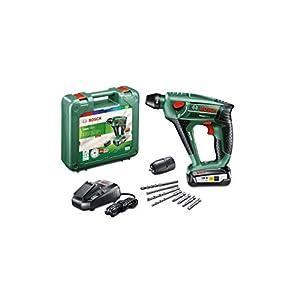 41e3kMovyyL. SS300  - Bosch UneoMaxx - Martillo perforador a batería (1 batería, sistema de 18V, en maletín)