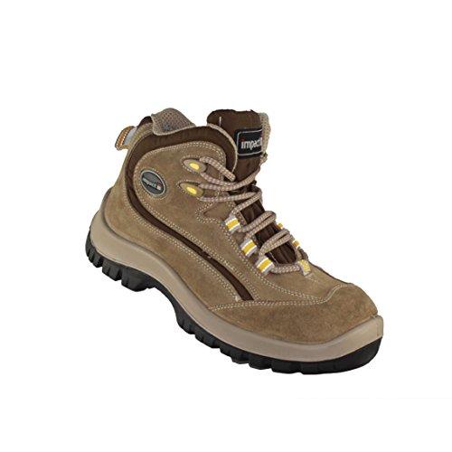 Impact , Chaussures de sécurité pour homme Beige