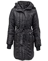 Womens Plus Size Quilted Jacket Coat