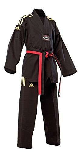 adidas Taekwondoanzug ADI-CHAMPION COLOUR schwarz