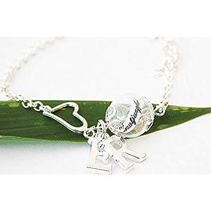 Brautjungfer Pusteblumen Armband Brautschmuck Trauzeugin Geschenk Blütenschmuck Pusteblumenarmband Braut Hochzeit…