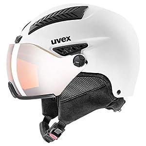 uvex Unisex– Erwachsene, hlmt 600 visor Skihelm
