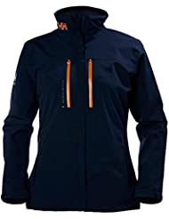 Helly Hansen W Crew H2flow Jacket, Woman, Color: Navy