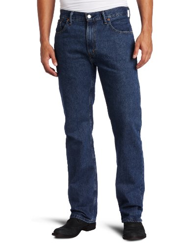 Levis Jeans scuro Stonewash Vestibilità classica, a vita bassa W42-L30