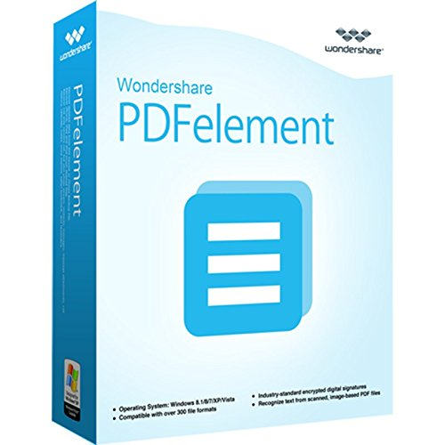 PDFelement Win Vollversion MIT OCR ! V5.0 (Product Keycard ohne Datenträger)