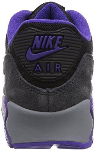 Nike Air Max 90 Essential, Chaussures de running femme Noir (Blk/Crt Prpl-Hypr Grp-Anthrct)