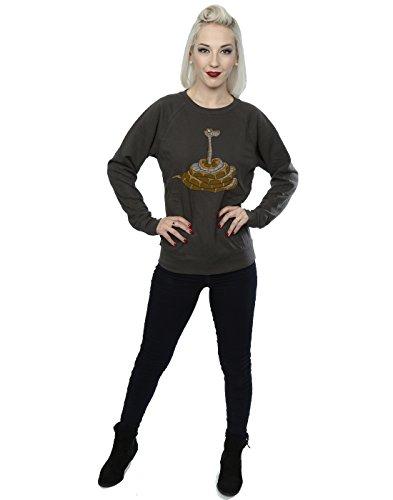 Disney Femme Classic Kaa Sweat-Shirt Graphite Lumière