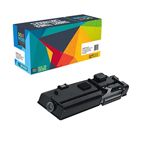 Doitwiser ® Compatible Black Toner Cartridge For Dell C2660 C2660dn C2665dn C2665dnf - 593-BBBU RD80W (Extra High Yield 6,000 pages)