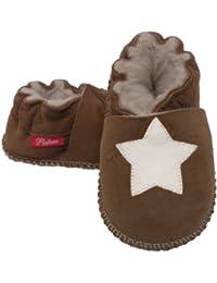 Plateau Tibet - VERITABLE laine d'agneau Bottines Chaussures Chaussons en cuir souple pour bébé garçon fille enfant - 6 COULEURS