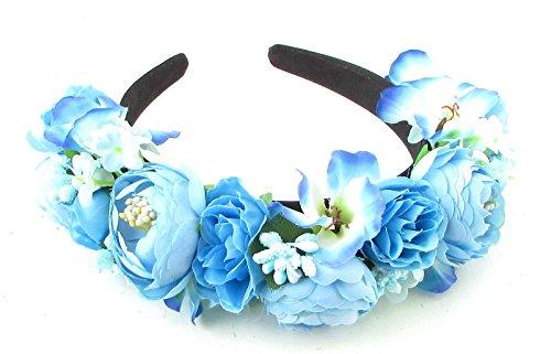 Cielo-Azul-Hibiscus-rosa-Rannculos-flor-diadema-pelo-corona-Boho-Festival-866-Exclusivamente-Se-Vende-por-STARCROSSED-Beauty