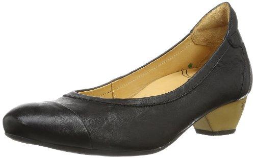 Think! Alexia, Chaussures Compensées Femme Noir (09)