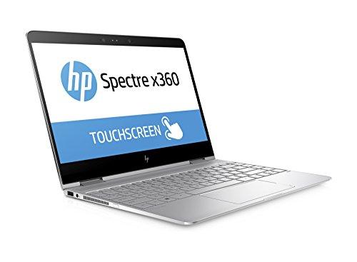 "HP Spectre x360 13-w000nf Portatile 2-in-1, 13"" FHD, Intel core i5, 8 GB RAM, SSD 256 GB, Windows 10, Argento [Francia]"