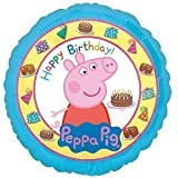 """Peppa Pig Happy Birthday""-Folienballon von Amscan Internationa"