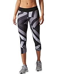 adidas RS 3/4 Q2 Mallas, Mujer, Negro, S