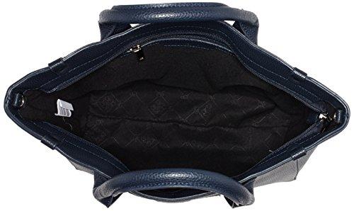 Bulaggi Damen Bennett Handbag Henkeltaschen, Einheitsgröße Blau (Dark Blue)