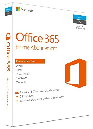 Ipad Microsoft Für Office (Microsoft Office 365 Home - 5PCs/MACs - multilingual (Account) [Online])