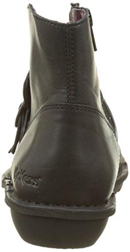 Kickers Damen Crumcross Schlupfstiefel Noir (Noir)