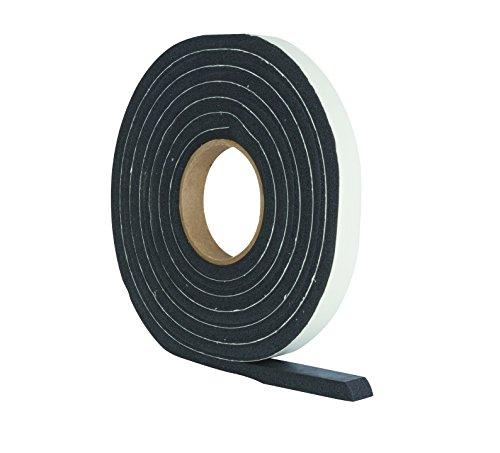 StormGuard  Dichtungsstreifen, dicker und breiter für größere Spalten 19x11x3050 mm, schwarz