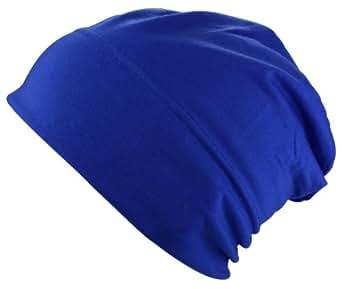 Bonnet Jersey en bleu royal