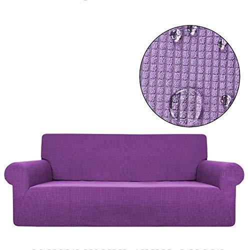 Whamsha Elastische Sofa-Schonbezüge Stretch 360° All Inclusive Sofabezug, Anti-Rutsch, Couch-Möbelschutz, Sofa-, Bett-, Armlos-Sofa, I, Loveseats