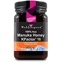 Wedderspoon 100% RAW Manuka Honey Active 16+ 500g
