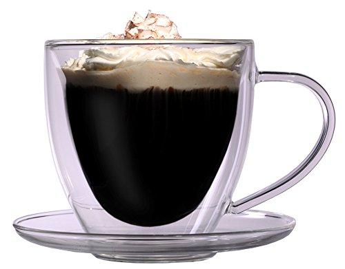 doppelwandige cappuccino tassen kaufen g nstige preise und angebote. Black Bedroom Furniture Sets. Home Design Ideas