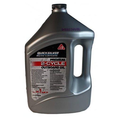 4 litri quick Silver Premium olio motore per motori 2-tem