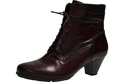 Gabor Shoes Gabor Basic, Bottes Femme, Rouge (25 Wine Effekt), 38 EU