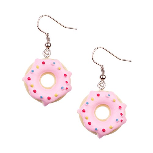 Snykk Donut-Ohrringe - 2 Stück – bunt