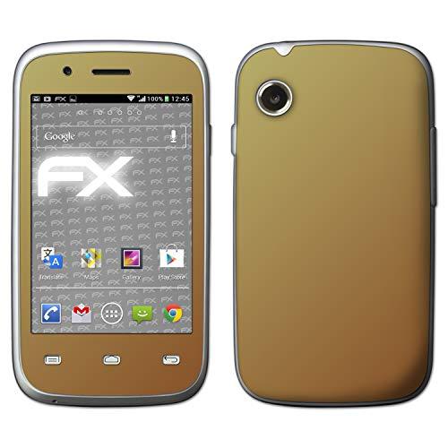 atFolix Skin kompatibel mit Wiko Ozzy, Designfolie Sticker (FX-Variochrome-Mystery), Mehrfarbig schillerndes Farbspiel