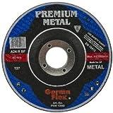 Premium Pack de 10x Ultra Thin 4,5pulgadas–115mm x 1,6mm amoladora de ángulo Circular saw- Stainless Steel Cortes Dics–corte discos de corte de metal