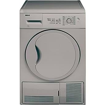 Beko DC7132S Autonome Charge avant 7kg B Argent sèche-linge - Sèche-linge (Autonome, Charge avant, Condensation, Argent, boutons, Rotatif, Droite)