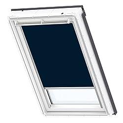 VELUX Original Verdunkelungsrollo für Dachfenster, F06, Uni Dunkelblau