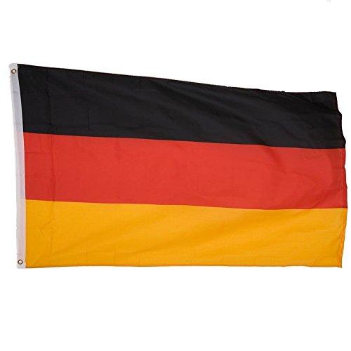 AA Plus Shop International Welt-Land Flaggen, World Cup Flaggen, Flaggen der Welt, 3'x 5' Flaggen Germany Multi -