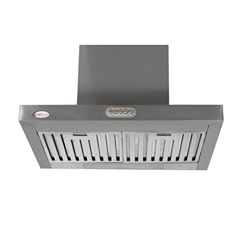 brightflame Kitchen Chimney - Lily SB, Air Flow: 1100 m³ / Hr & Lifetime Warranty*