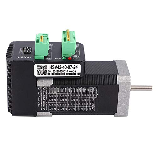 Servomotor, 24 V, 5,1 A, 78 W, IHSV42-40-07-24, NEMA17, integrierter 3-Phasen-Servomotor, digitaler Hochgeschwindigkeitsdrehmoment-Servomotor mit 4000 U/min und 1000-Zeilen-Encoder
