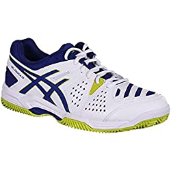 Asics - Geldedicate 4 Clay 0143 - Color: Blanco - Size: 43.5