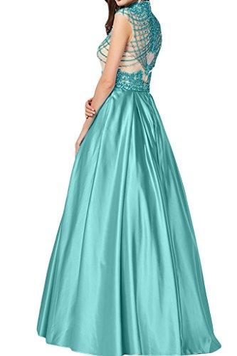 Missdressy - Robe - Trapèze - Femme Turquoise - Turquoise