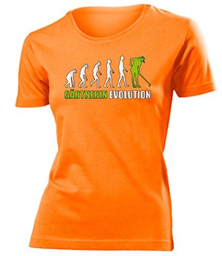 Gärtnerin Evolution 4572(F-Ora-Weiss-Grün) Gr. S