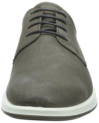 Ecco Jared, Derby Homme Gris (WARM GREY02375)