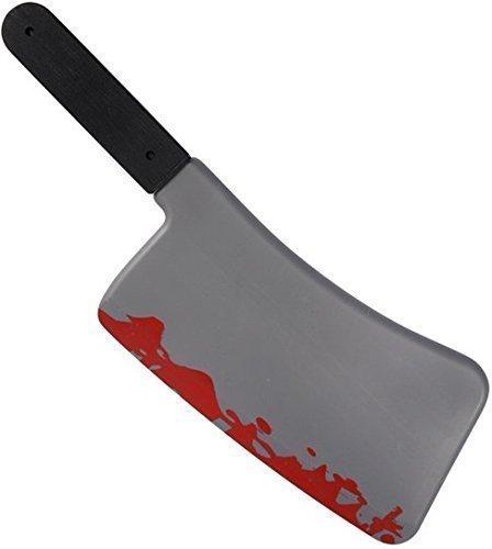 Fancy Me Groß Zombie Halloween Blutig Fleisch-hackmesser Messer Kostüm Spielzeug-zubehör - Fleisch Kostüm Halloween