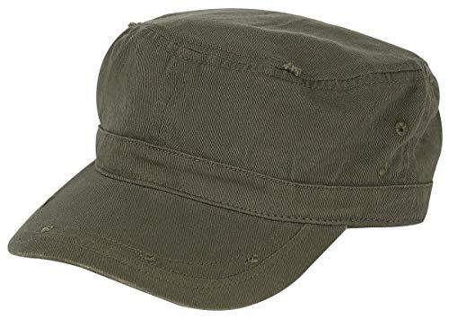 emp caps Black Premium by EMP Vintage Army Army-Cap oliv