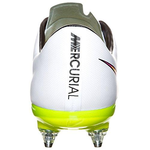 Nike Performance Mercurial Veloce II SG-PRO Fußballschuh weiß / lime / pink