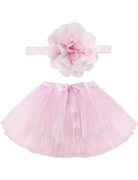 Musuntas Baby Prop Fotografie, Baby Kostüm,Foto Fotografie Outfits Baby Kostüm Tütü Rock Pettiskirt Mädchen Blumen...